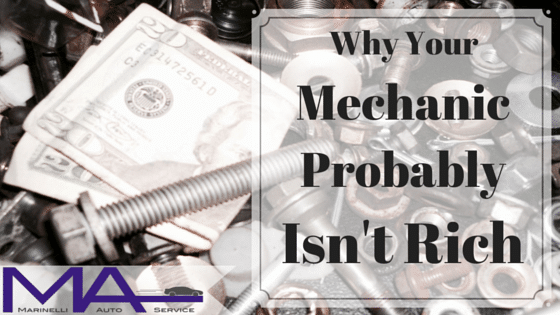 Understanding Your Bill: Part 2 – Why Your Mechanic Probably Isn't Rich