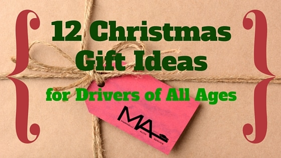 12 Christmas Gift Ideas for Drivers of All Ages