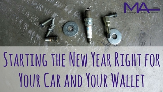 Start the New Year Right for Your Car and Your Wallet