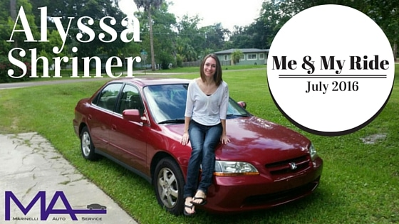 Me & My Ride: Alyssa Shriner