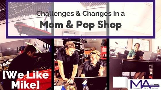 Challenges and Changes in a Mom and Pop Shop [We Like Mike]