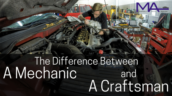 The Difference Between a Mechanic and a Craftsman