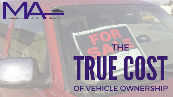 The True Cost of Vehicle Ownership