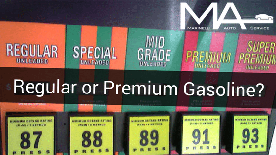 Regular or Premium Gasoline?