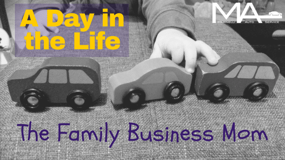 A Day in the Life: The Family Business Mom