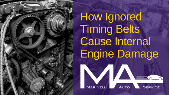 How Ignored Timing Belts Cause Internal Engine Damage