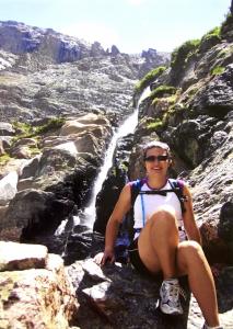 Hiking in the Colorado Rockies in 2007