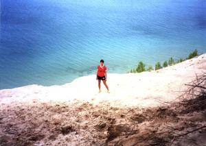 Pyramid Point, Lake Michigan 2008