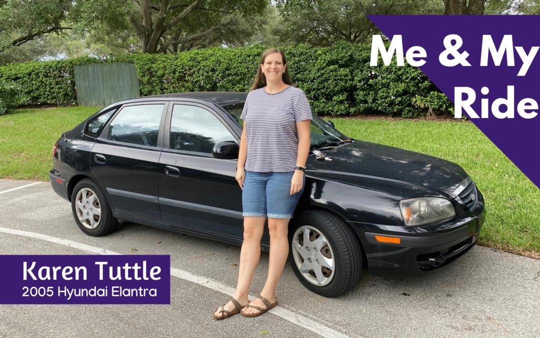 Me & My Ride: Karen Tuttle's 2005 Hyundai Elantra