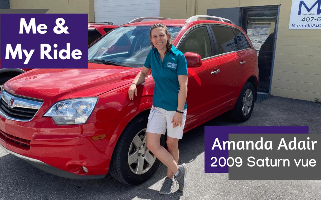 Me & My Ride: Amanda Adair's 2009 Saturn Vue